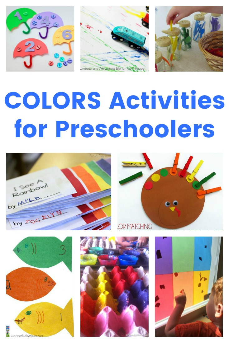 Colors Activities for Preschoolers - Real And Quirky