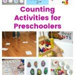 Counting Activities for Preschoolers