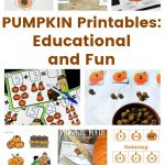 PUMPKIN Printables – Educational and Fun
