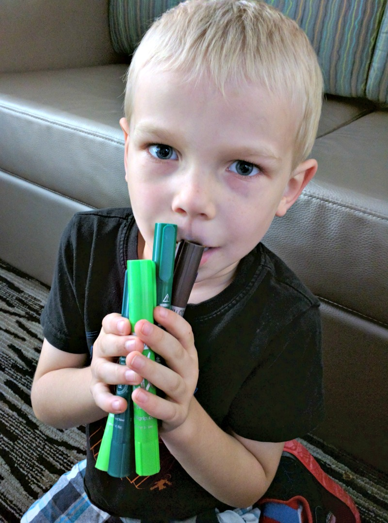 Thin Stix Creativity Pack of 24 colors - Solid Tempera Paint - Charlie loves the greens