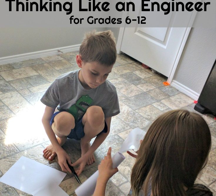 Thinking Like an Engineer Online Course for Grades 6-12