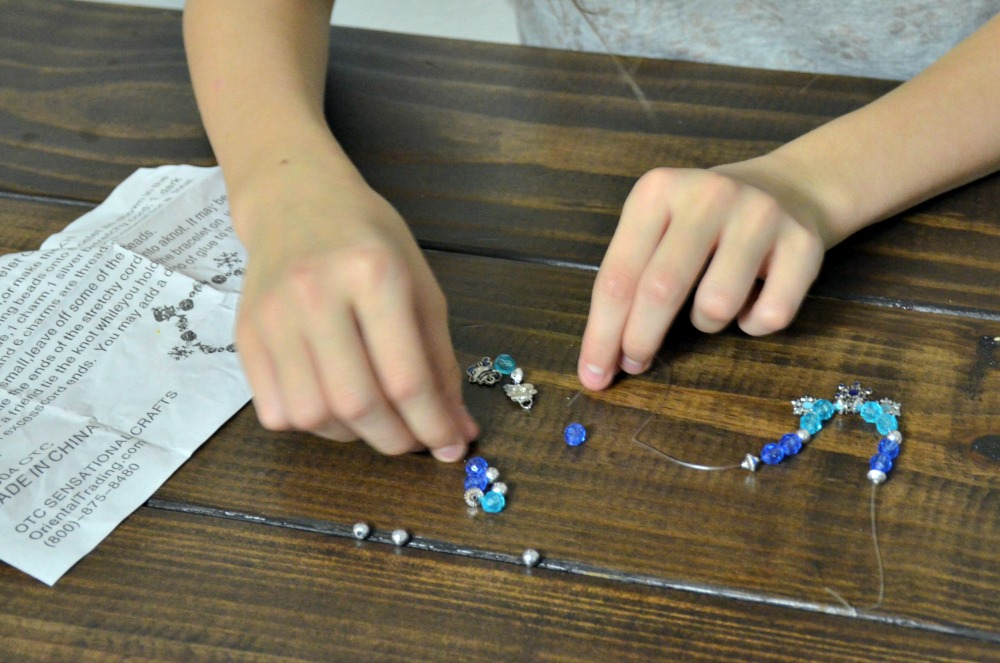 Activities to Keep Kids Busy Over Winter Break - Beaded bracelet kit
