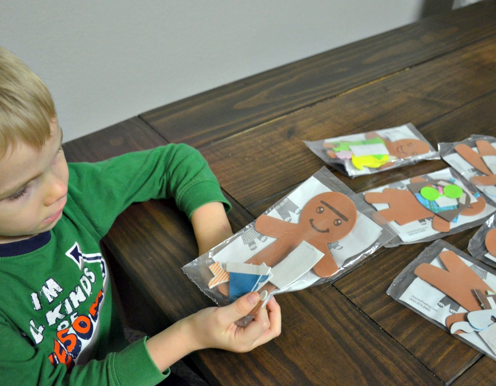 Activities to Keep Kids Busy Over Winter Break - Silly Gingerbread Magnet Kits