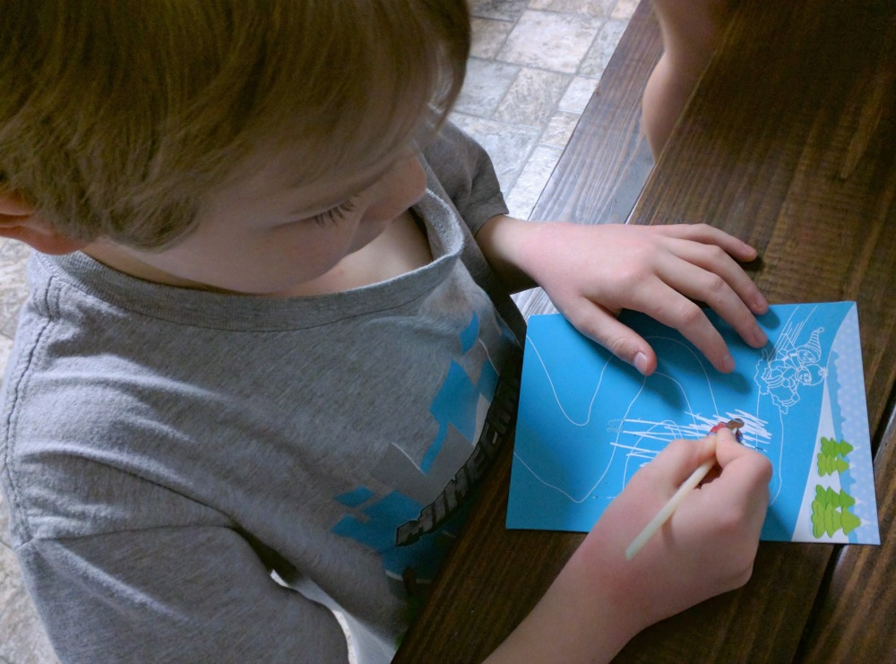 Scratch N Reveal activities make a good party favor or quick activity for kids