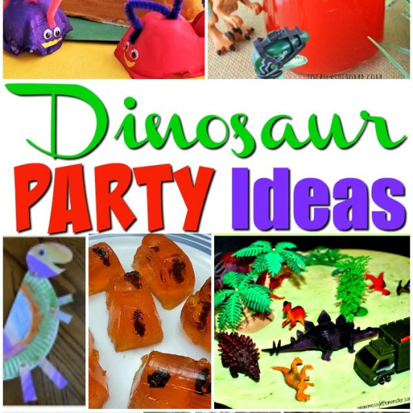 Dinosaur Party Ideas for Kids