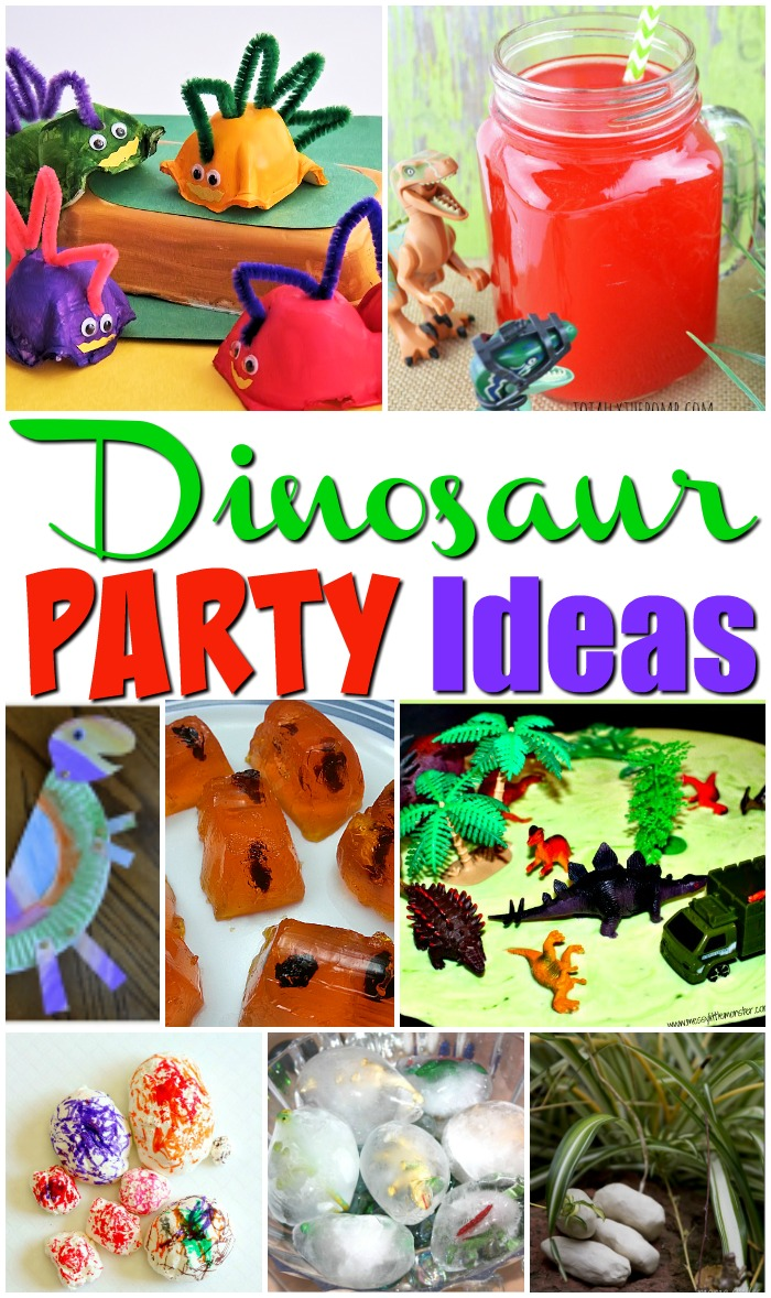 22 Dinosaur Party Ideas for Kids