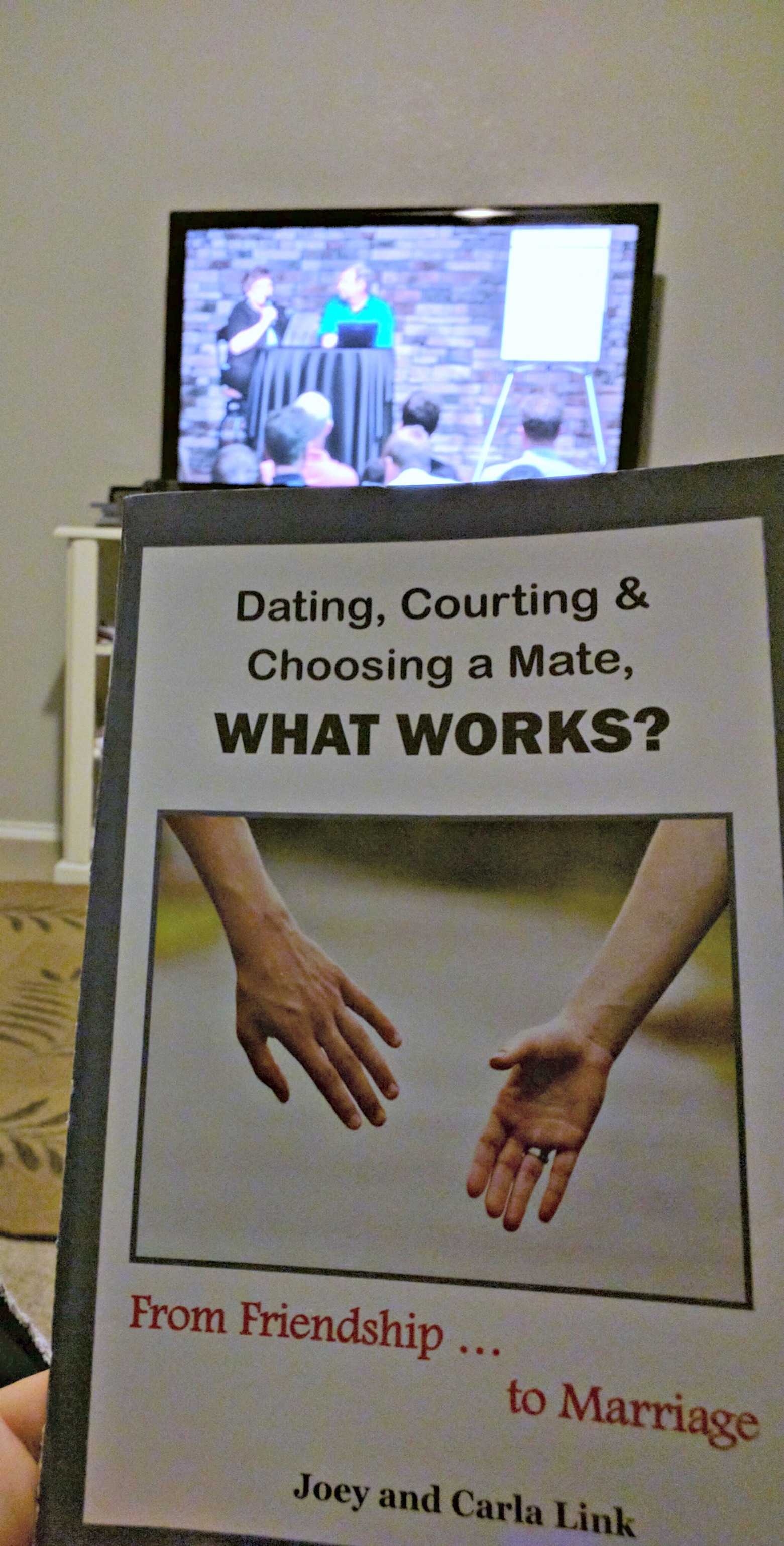 Dating, Courting, and Choosing a Mate, What Works? DVD lecture set with workbook and DVD