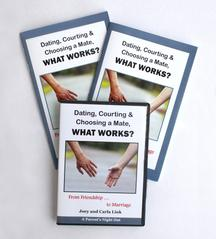 Dating, Courting, and Choosing a Mate, What Works? DVD lecture set with workbook