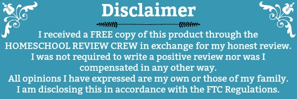 Disclaimer for Homeschool Review Crew - Disclosure
