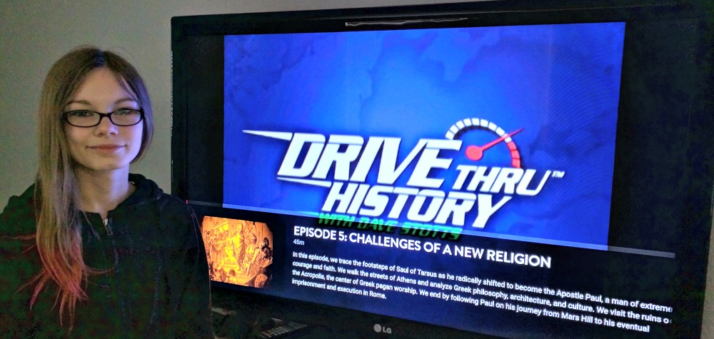 Drive Thru History Adventures are easy to Chromecast to your TV
