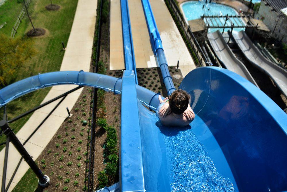 JW Marriott San Antonio Hill Country Plunge Body Slide