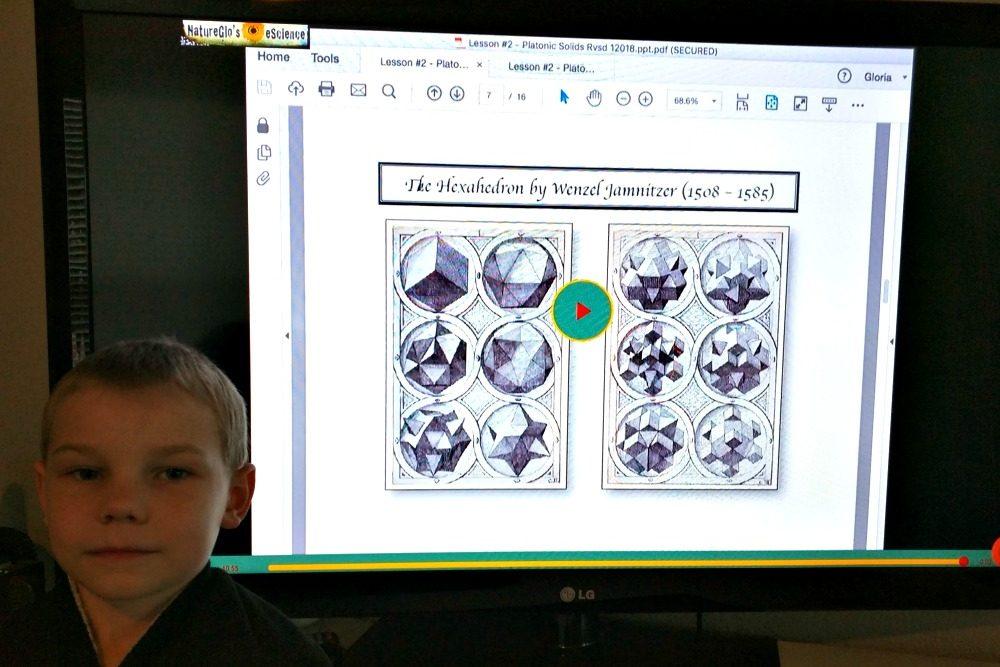 NatureGlo's eScience MathArt Online 4-Class Bundle
