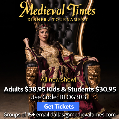 Spring Break at Medieval Times Dallas Castle