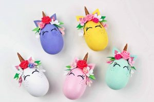Whimsical Unicorn Egg Craft and Decoration