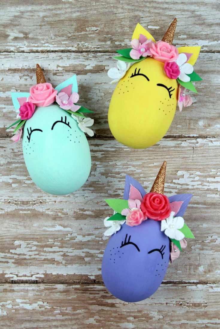 Whimsical Unicorn Egg Craft