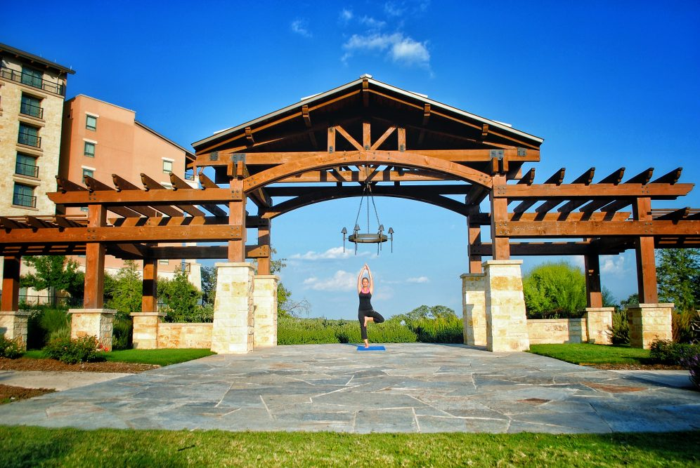 JW Marriott San Antonio Offers Many Activities including Yoga Instruction to relax and recenter