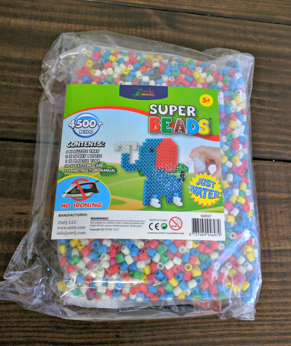 Zirrly Super Beads Mega Pack Just Add Water Craft Project