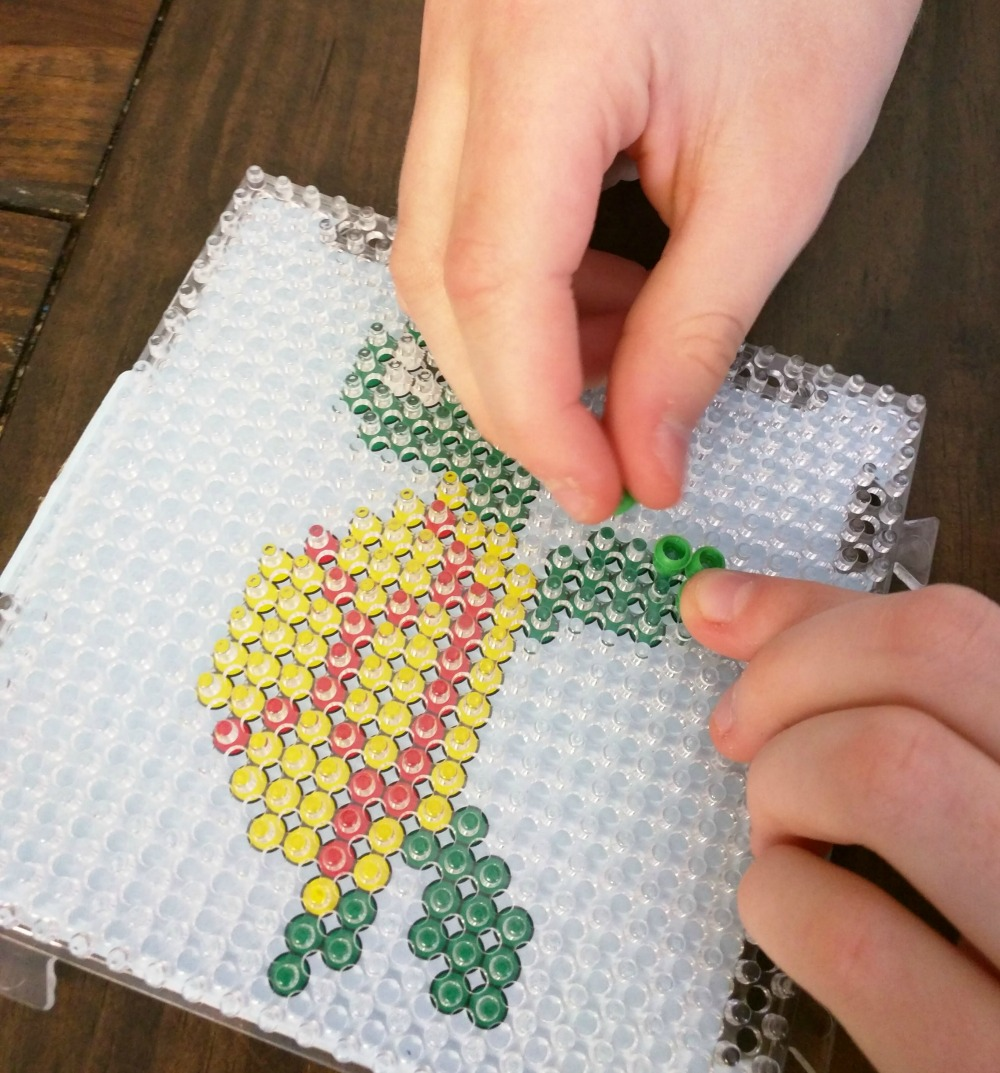 Zirrly Super Beads Mega Pack is great for kids and works on fine motor skills