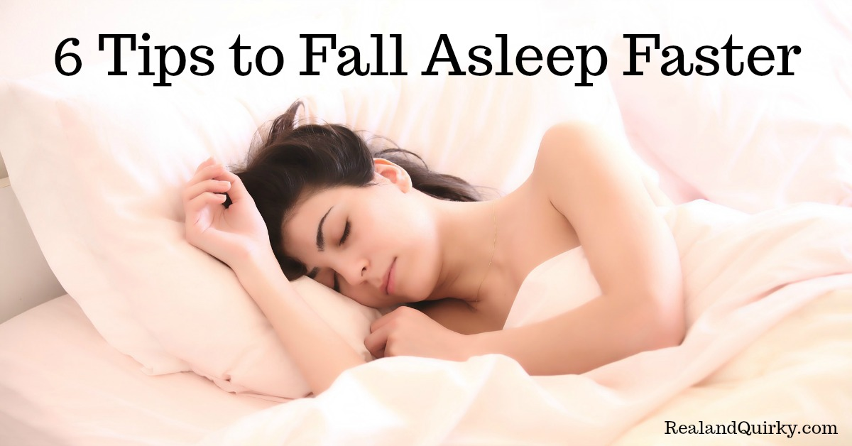 6 Tips to Fall Asleep Faster
