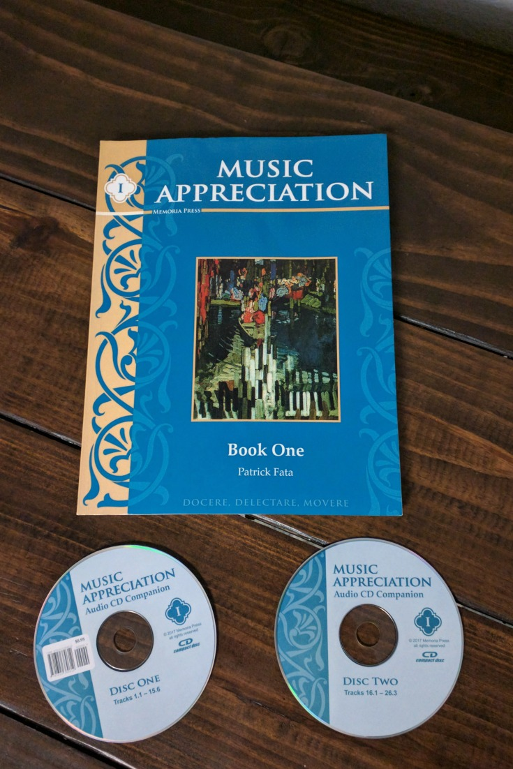 Music Appreciation I Curriculum for upper elementary or middle school students