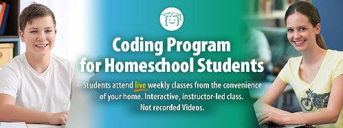 Coding Classes for Homeschoolers from CodeWizardsHQ