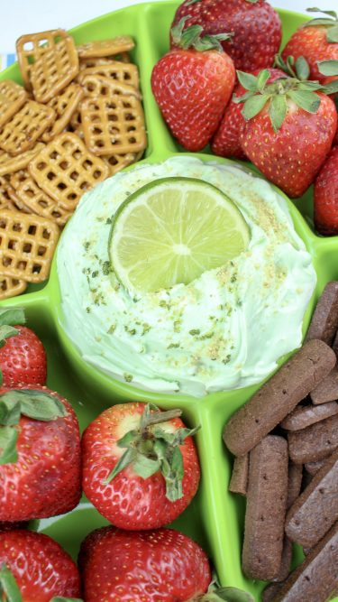 Key Lime Cheesecake Dip