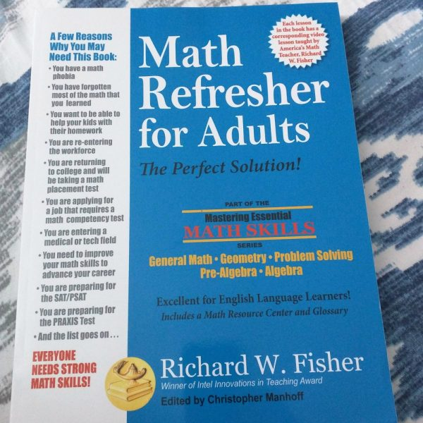 Math Refresher for Adults (Book Review)