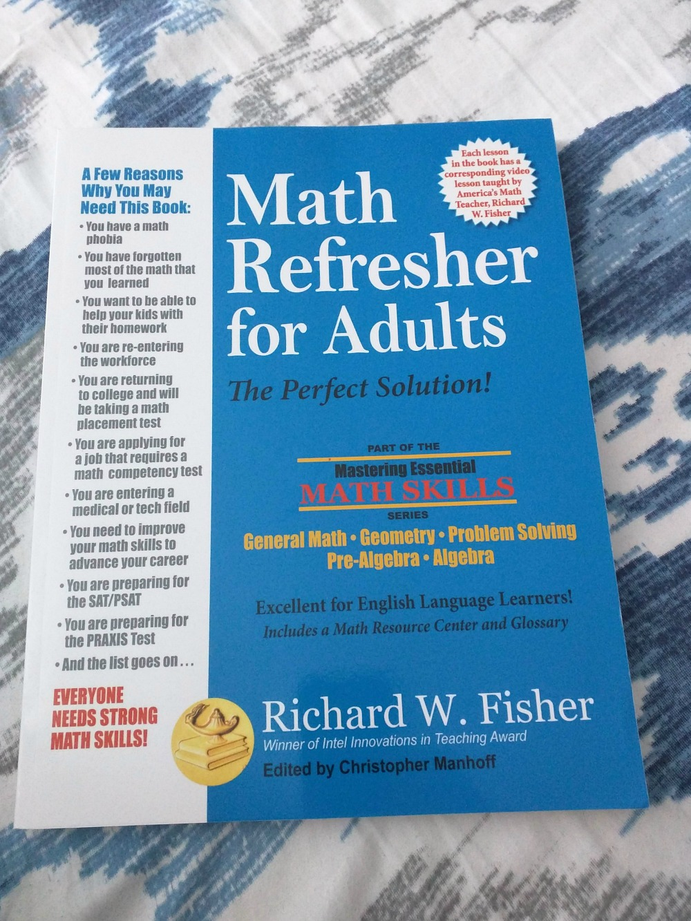 Math Refresher for Adults (Book Review) - Real And Quirky