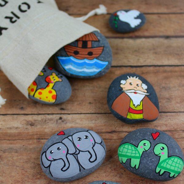 Story Stones Inspiration – Noah's Ark