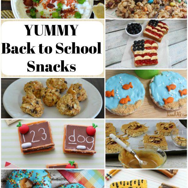 YUMMY Back to School Snacks