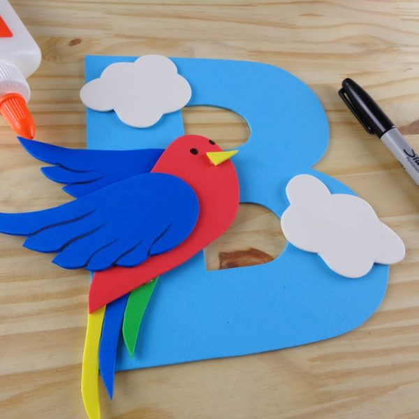 B is for Bird – Letter Craft