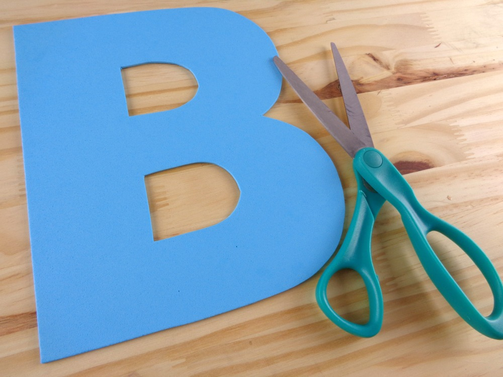 B is for Bird - Letter Craft Template