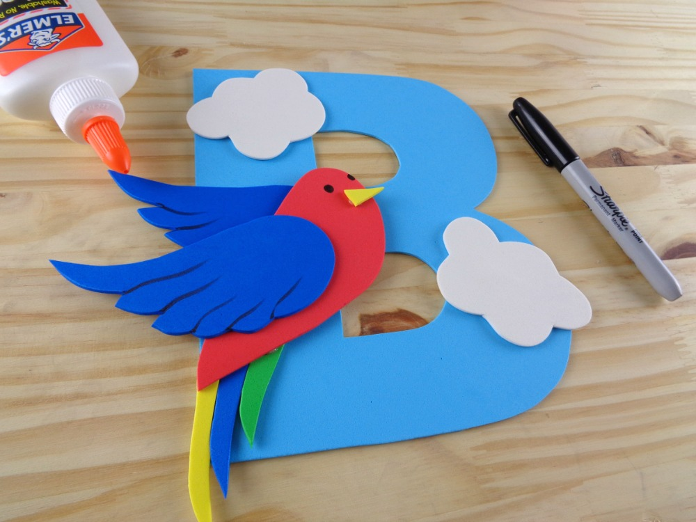 B is for Bird - Letter Craft