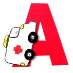 A is for Ambulance – Letter Craft