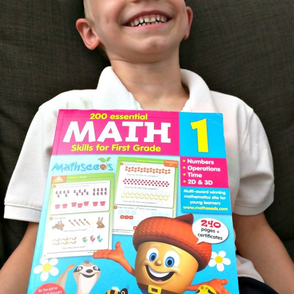 Mathseeds 200 Essential Math skills for First Grade Workbook