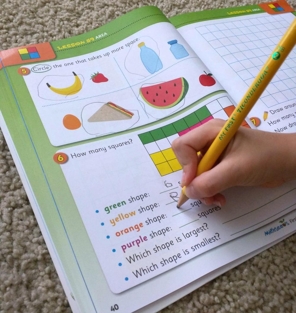 Mathseeds workbook Math Lessons