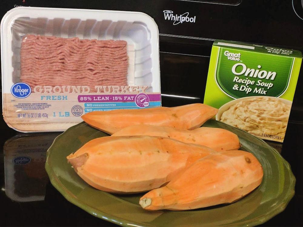 Simple 3 Ingredient Foil Pack Dinner Ingredients