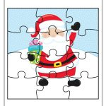 FREE Educational Printable Christmas Puzzle Pack