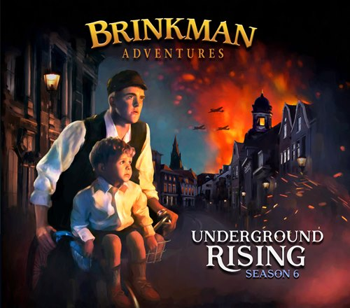 Brinkman Adventures Season 6 - Missionary Audio Drama