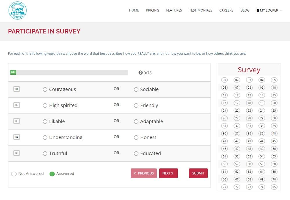 CashCrunch Careers Survey