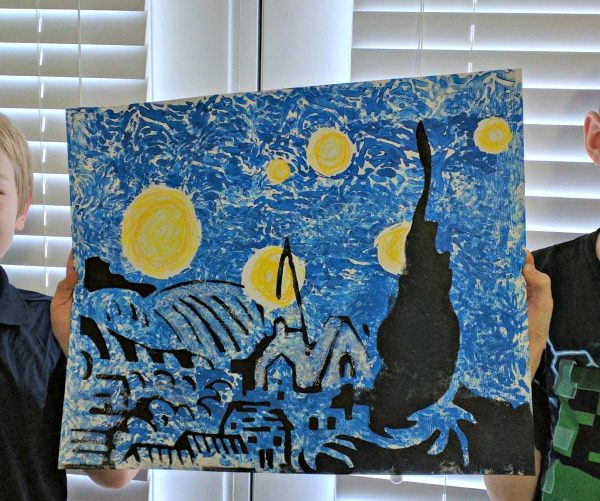 The Starry Night Art Kit Review from Master Kitz
