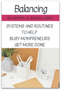 Balancing Diapers and Deadlines Course Review