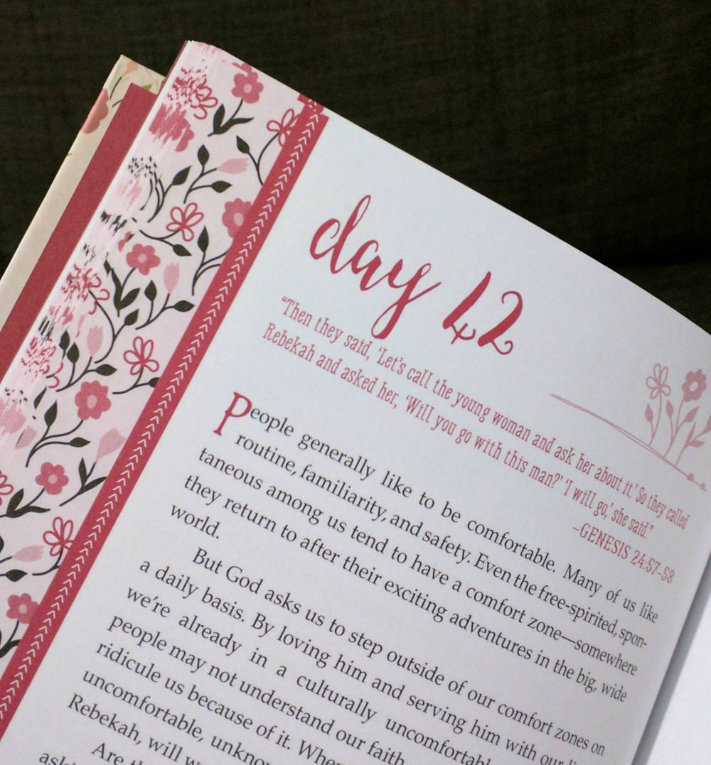 Beloved 365 Devotions for Young Women hard cover excerpt