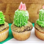 Adorable DIY Cactus Cupcakes