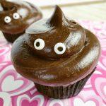 Love Stinks Poop Emoji Cupcakes