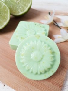 Lime and Coconut Soap DIY Recipe