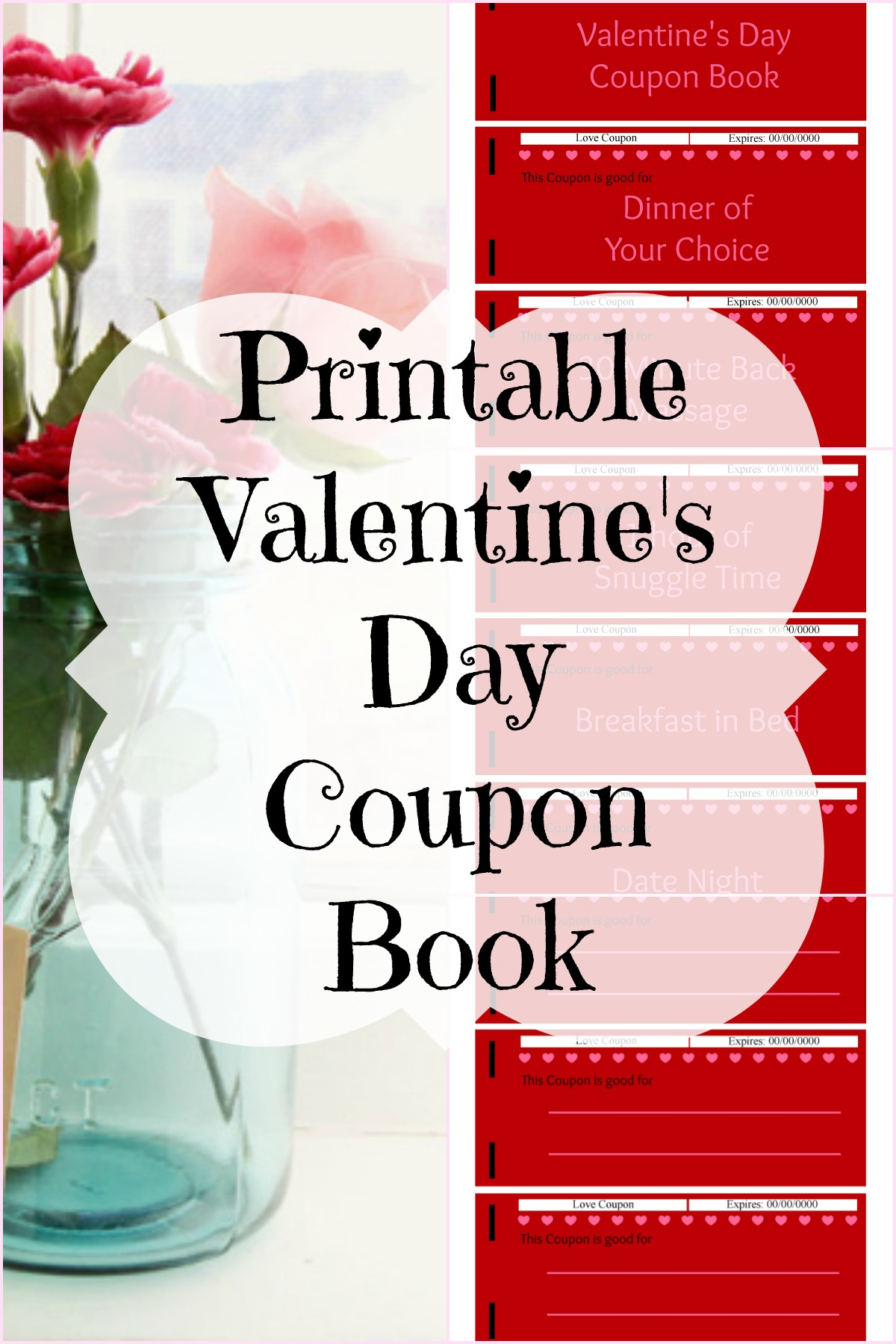 Printable Valentine's Day Coupon Book