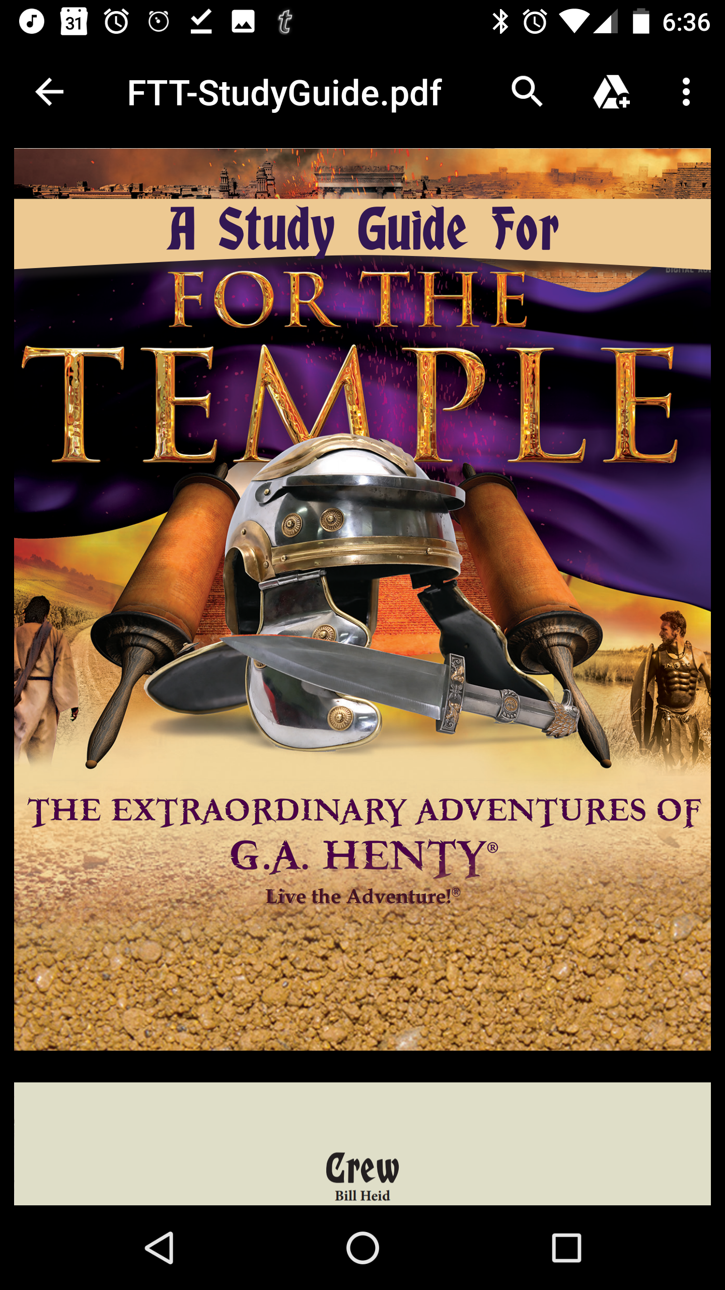 For the Temple from Heirloom Audio and by G.A. Henty