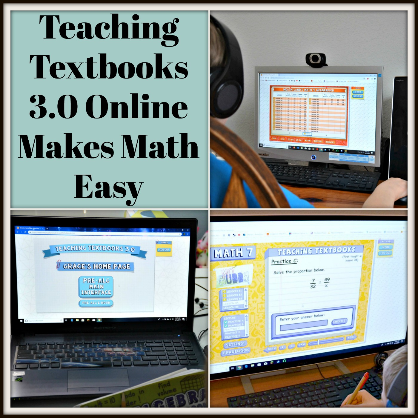Teaching Textbooks 3 0 Online Makes Math Easy - Real And Quirky