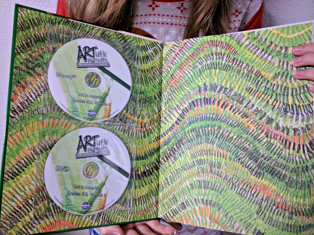 ARTistic Pursuits Inc Art in America, K-3 Vol. 8 DVD and Blu-ray